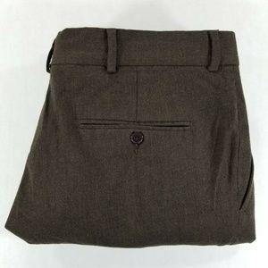 Nautica Brown WOOL dress pants Cuffed
